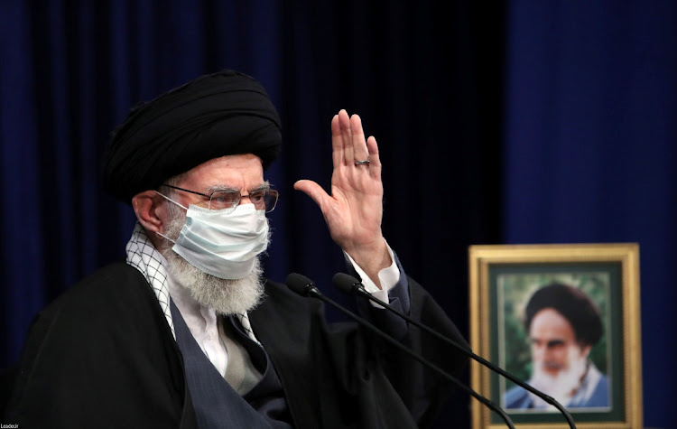 Iran's supreme leader Ayatollah Ali Khamenei said Tehran may enrich uranium up to 60% purity if the country needed it, state TV reported, adding that Tehran will never yield to the US pressure over its nuclear work.