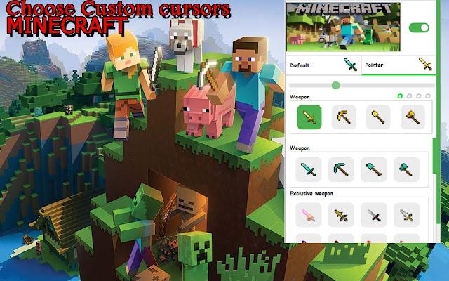 Minecraft Custom Cursors
