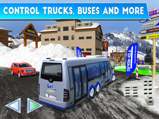 Winter Ski Park: Snow Driver 1.0.1 screenshots 8