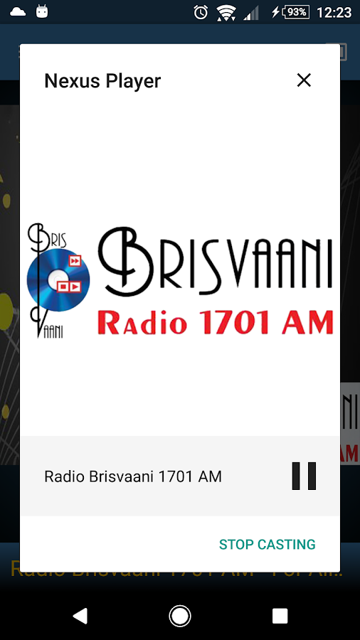 Radio Brisvaani 1701 AM- screenshot