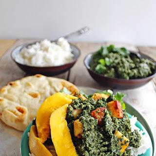 Kale Saag Paneer With Mango.