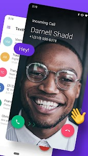 TextNow MOD APK 20.20.2.0 (Premium Features Unlocked) 2
