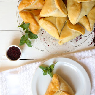 Spinach Pastries (Fatayer Sabanekh)