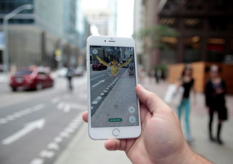 Pokémon Go. Picture: REUTERS