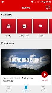 TheStarTV Mobile - náhled