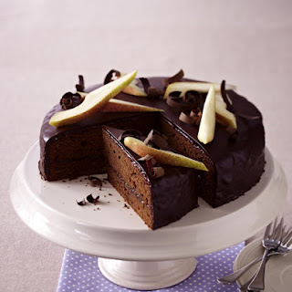 Pear and Chocolate Sacher Torte