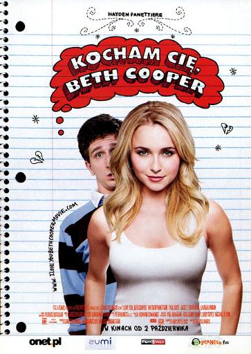 Przód ulotki filmu 'Kocham Cię, Beth Cooper'