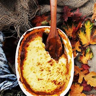 Chicken Livers and Hearts Shepherd's Pie