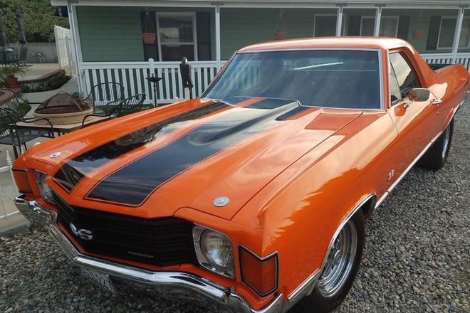 1972 Chevrolet El Camino SS Hire CA 92870