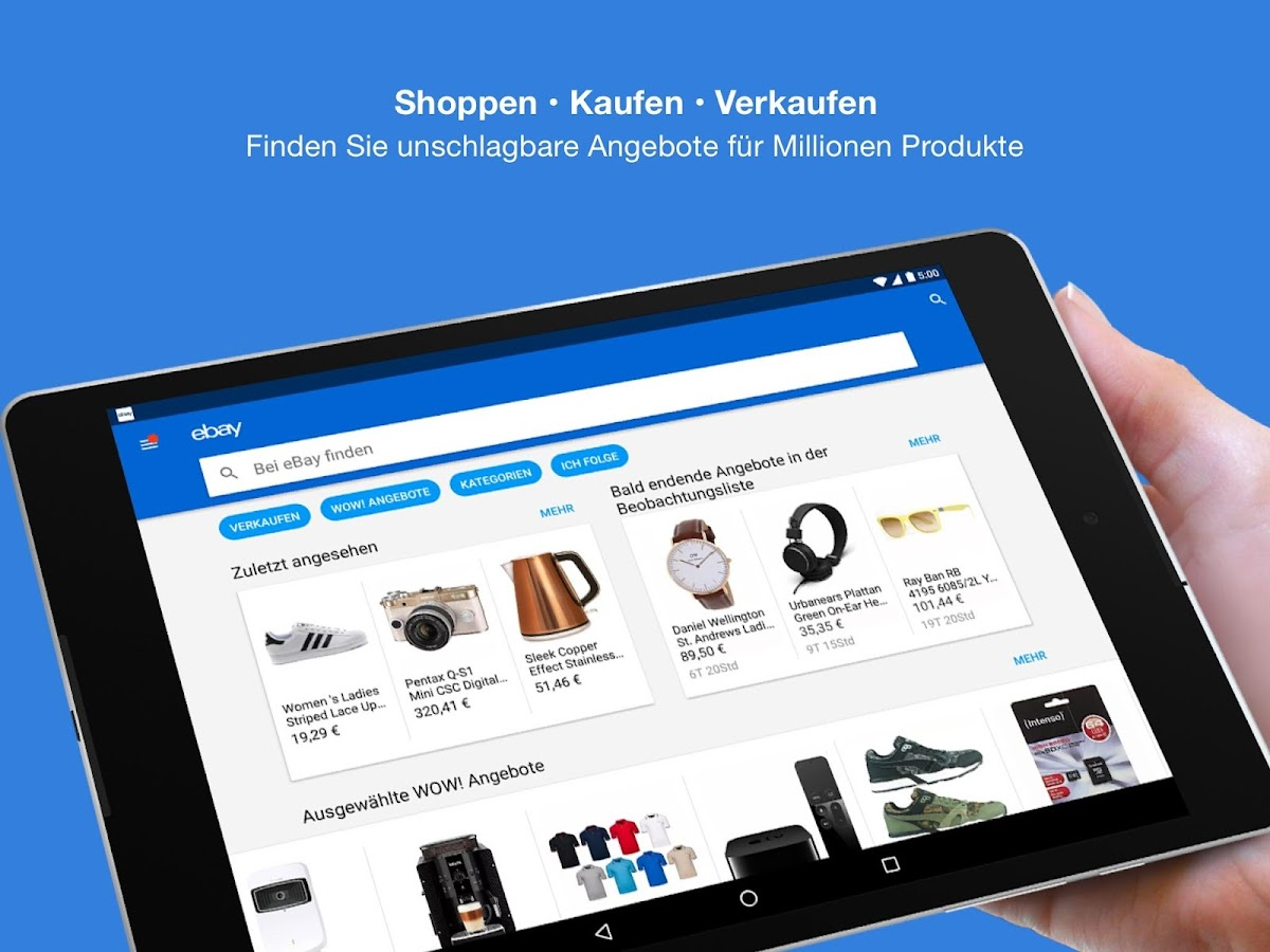 ebay kaufen verkaufen android apps auf google play. Black Bedroom Furniture Sets. Home Design Ideas