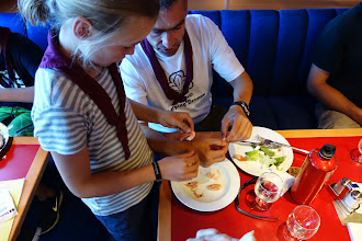 Photo: Ombord på færgen Göteborg-Frederikshavn. Endda med frokostbuffet