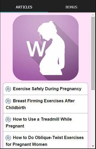 妊娠は演習をワークアウト