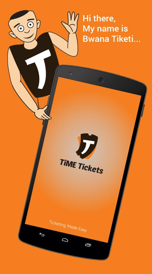 TiME Tickets- screenshot