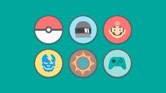 Flat Circle – Icon Pack 5