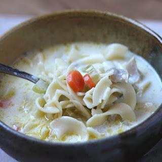 Creamy Turkey Noodle Soup