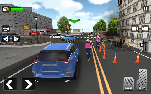 City Taxi Driving: Fun 3D Car Driver Simulator screenshots 9