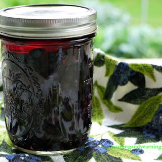 Lacto-fermented Blueberries