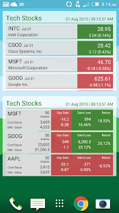 Stock Watcher 2 - Realtime- screenshot thumbnail