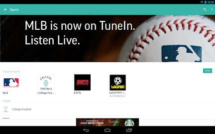 TuneIn Radio - Radio & Music Screenshot 2