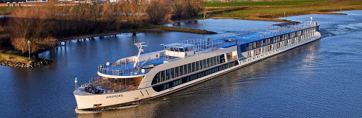The 156-passenger AmaMora features generous personal space and exceptional stateroom comfort during voyages along the Rhine River.