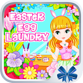 Baby Easter Egg Laundry