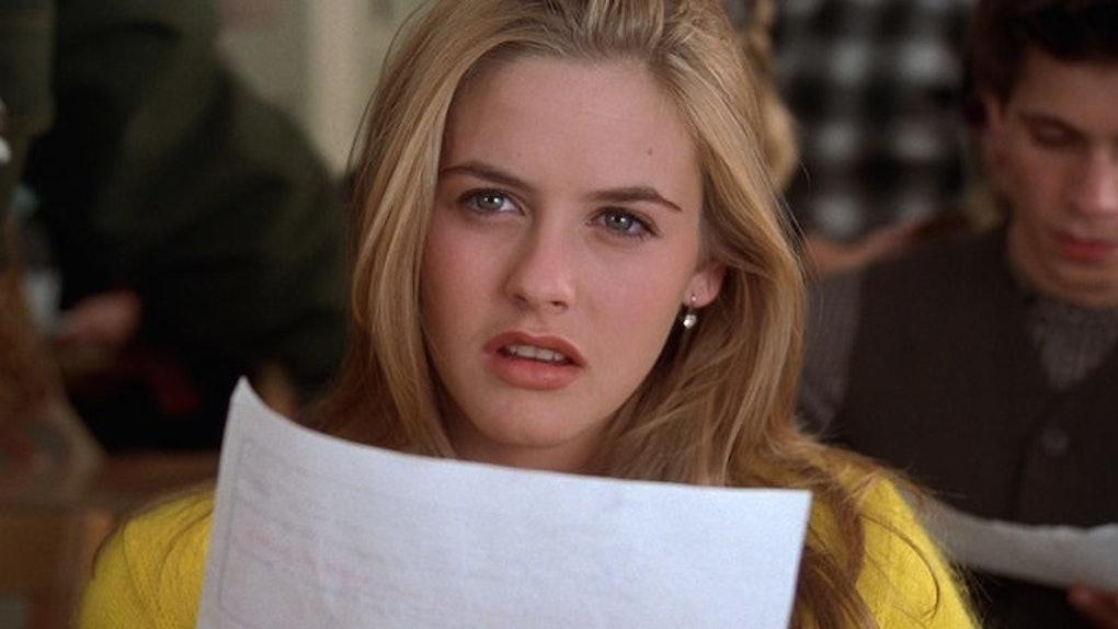 Demisexual character Cher from Clueless.