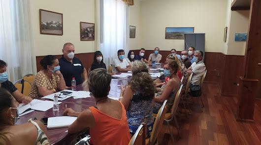 Reunión con los centros educativos para tratar medidas de prevención del Covid19