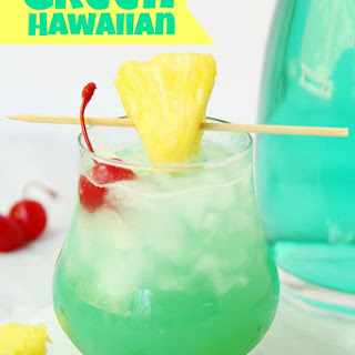Green Hawaiian Cocktail Recipe