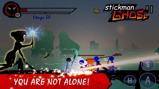 Stickman Ghost Ninja Warrior Action Game Offline 2.0 Mod Apk [DINHEIRO INFINITO] 3