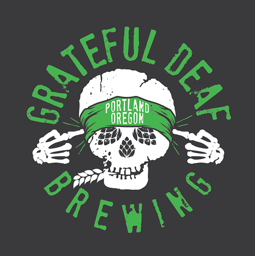 Logo of Grateful Deaf Read My Lips Rye IPA
