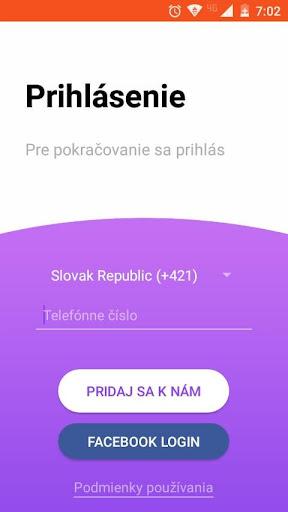 Zoznamka aplikácia pre Android BELGIE
