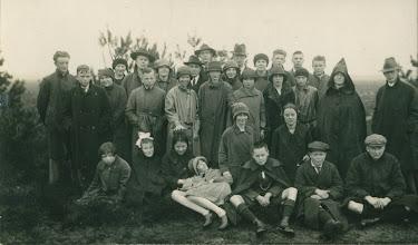Photo: NBAS Amersfoort, wandeltocht 15 Mei 1927