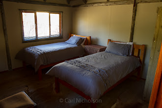 Photo: Inside view of Log cabin rooms