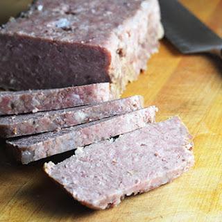 Homemade Spiced Ham (SPAM).