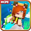 Mermaid Mod MC Pocket Edition icon
