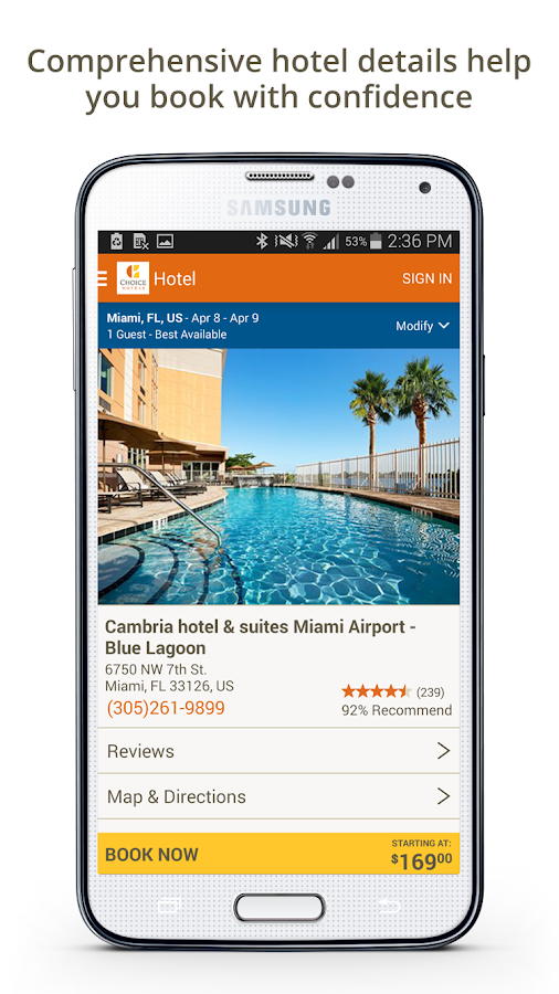 Choice Hotels – Book Now!- screenshot