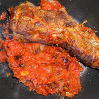 Stuffed Beef Rolls with a Tomato Sauce (Involtini).