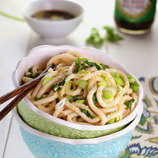 Sweet & Spicy Udon Noodle Bowl.