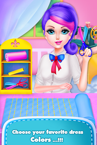 School Girls Fashion Tailor Designer Clothes for PC