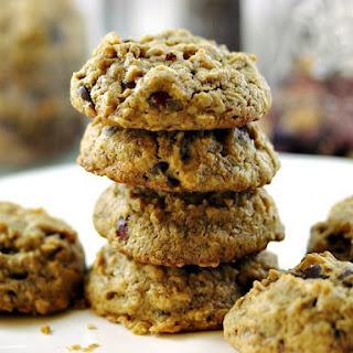 Gluten-Free Peanut Butter Chocolate Chip Crunch Cookies.
