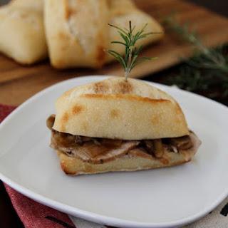 Braised Pork with Rosemary and Mushrooms {Arrosto con il Rosmarino}