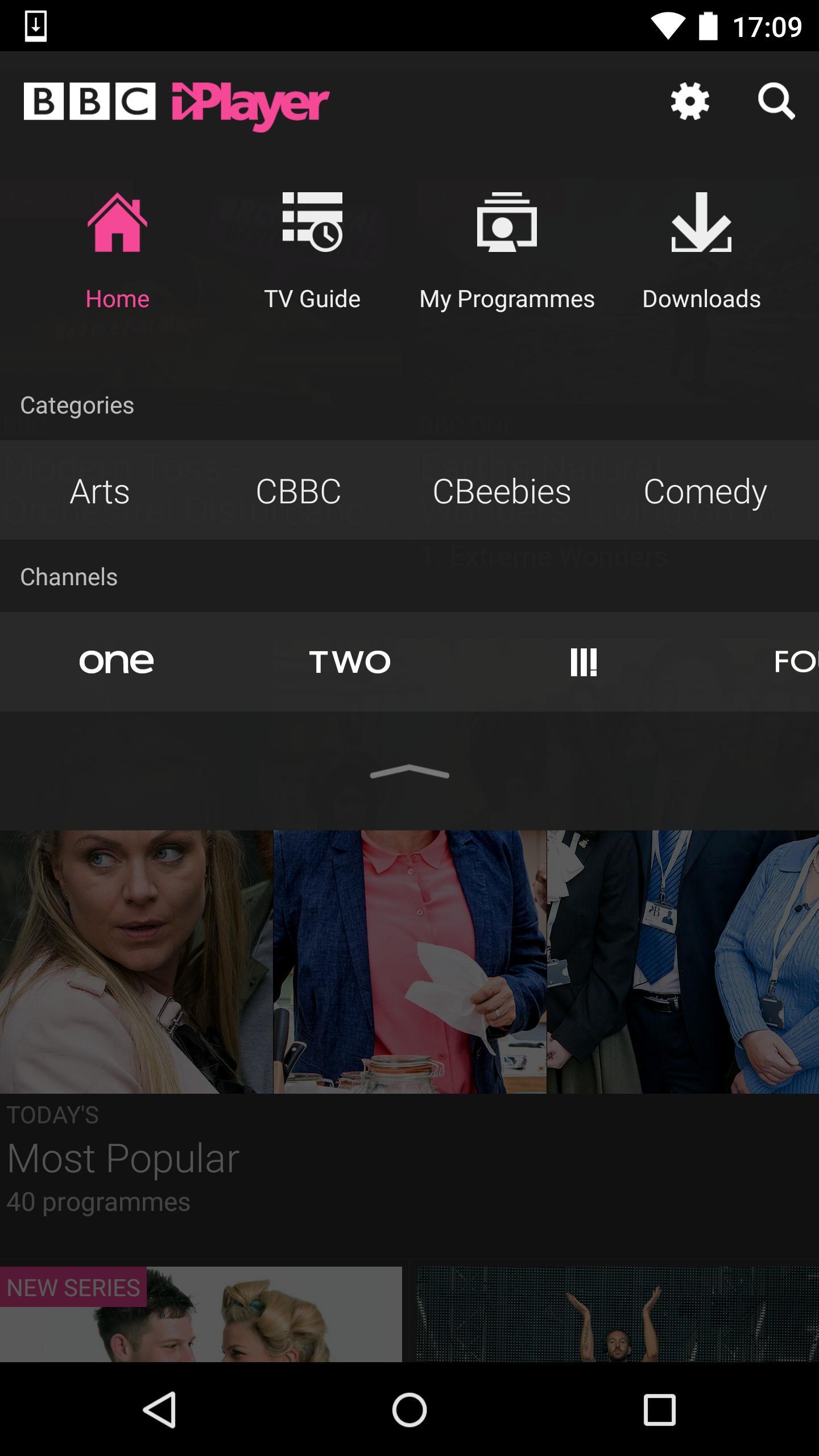 BBC iPlayer screenshot #2