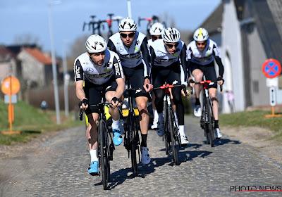 Qhubeka brengt zijn drie Belgen aan de start van de Omloop, twee van hen rijden ook Kuurne-Brussel-Kuurne