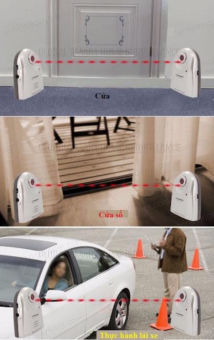 báo động chống trộm hàng rào laser
