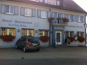 Photo: Our first hotel in Baden-Baden, Germany