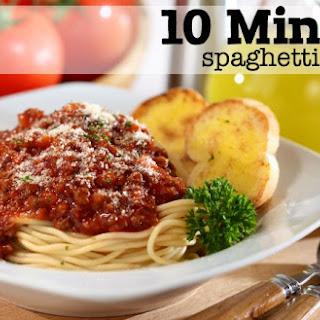 10-Minute {SUPER EASY} Spaghetti Sauce