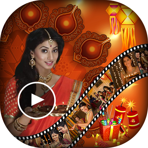 Diwali Video Maker - Happy Diwali Video Editor