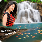 Natural Waterfall Photo Frame