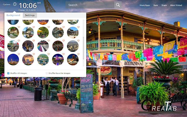 San Antonio Wallpapers Theme|GreaTab