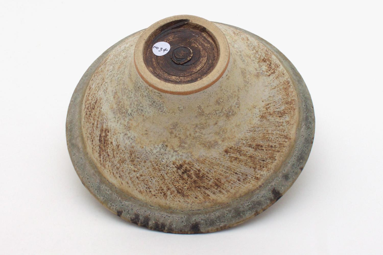 Chris Carter Ceramic Flared Bowl 034